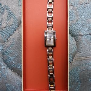 omens Newer GUESS Stainless Steel Watch
